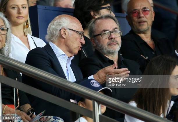 Carlos Bianchi attends the French Ligue 1 match between Paris SaintGermain and Toulouse FC at Parc des Princes stadium on August 25 2019 in Paris...