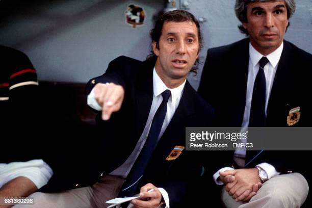 Carlos Bilardo Argentina coach