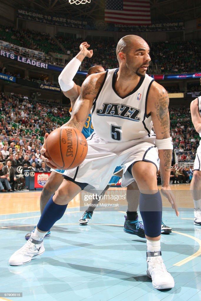 New Orleans Hornets v Utah Jazz