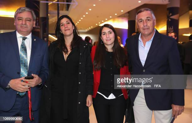 Carlos Borrello coach of Argentina and guests arrive for the FIFA Women's World Cup France 2019 Draw at La Seine Musicale on December 8 2018 in Paris...