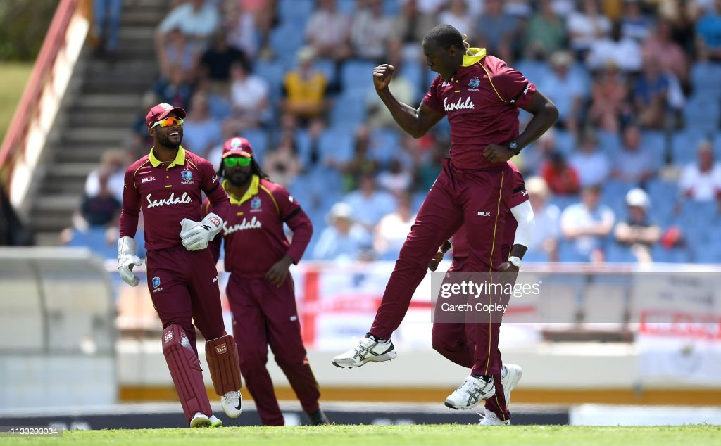 England v West Indies - 5th One Day International : News Photo