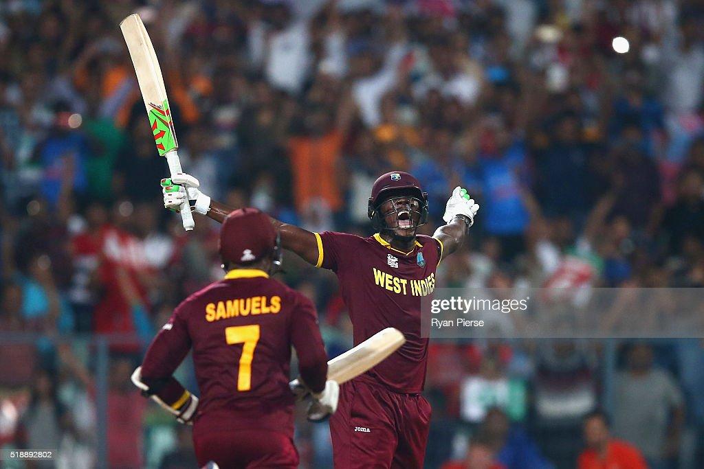 ICC World Twenty20 India 2016: Final - England v West Indies : News Photo