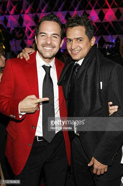 Carlos Calderon and Andres Rabi during The 7th Annual Latin GRAMMY Awards - Official After Party at Sheraton Hotel in New York City, New York, United...
