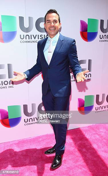 Carlos Calderon attends Univision's 2015 Upfront at Gotham Hall on May 12 2015 in New York City
