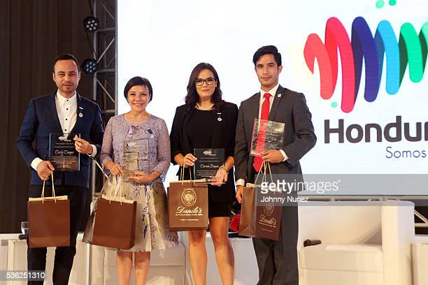 Carlos Campos Maribel Lieberman Carmen Boquín and Andres Avila attend the Honduras We Are All About You Tourism Campaign 1st Anniversary Conference...