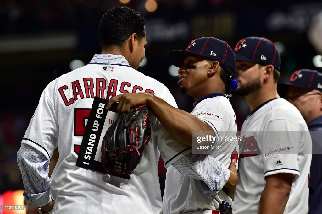 2019 MLB All-Star Game, presented by Mastercard : News Photo