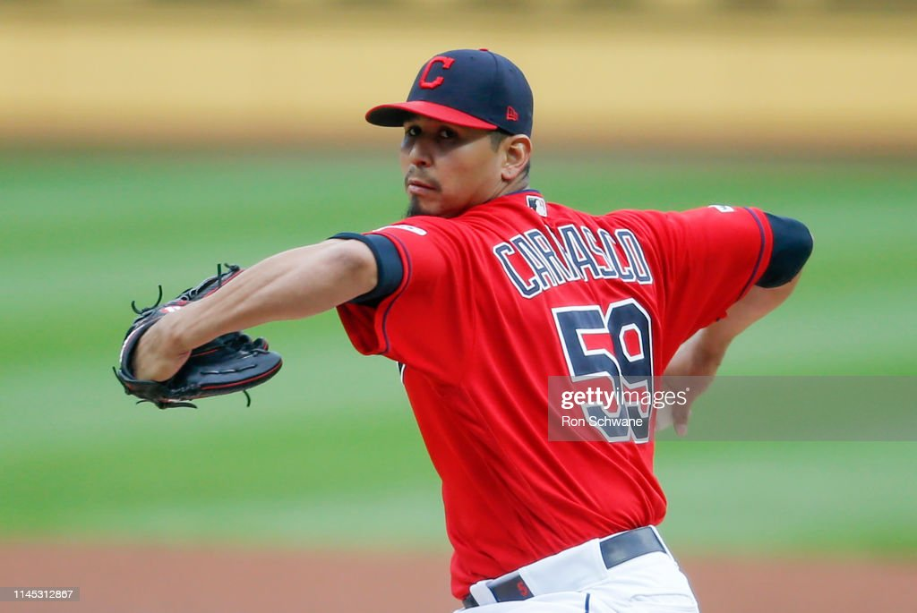 Oakland Athletics v Cleveland Indians : News Photo