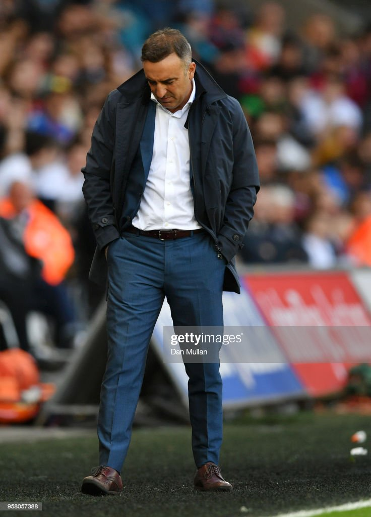 Swansea City part company with manager Carlos Carvalhal