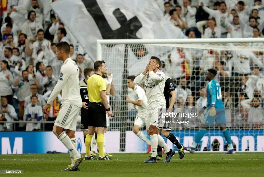 Real Madrid vs Ajax - UEFA Champions League : News Photo