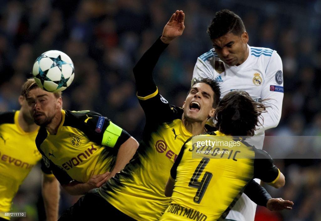 Carlos Dortmund madrid vs borussia dortmund uefa chions league pictures
