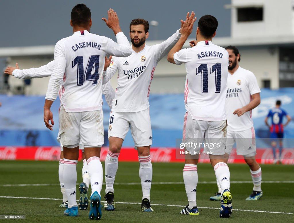 Real Madrid v SD Eibar - La Liga Santander : News Photo