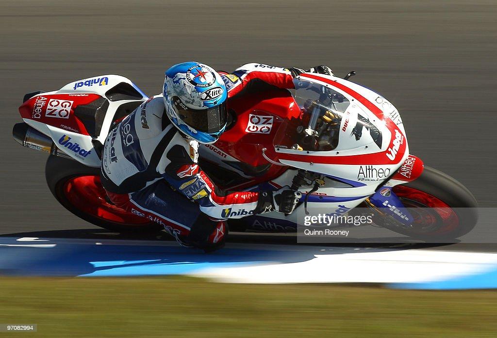 Superbike World Championship Round One - Practice
