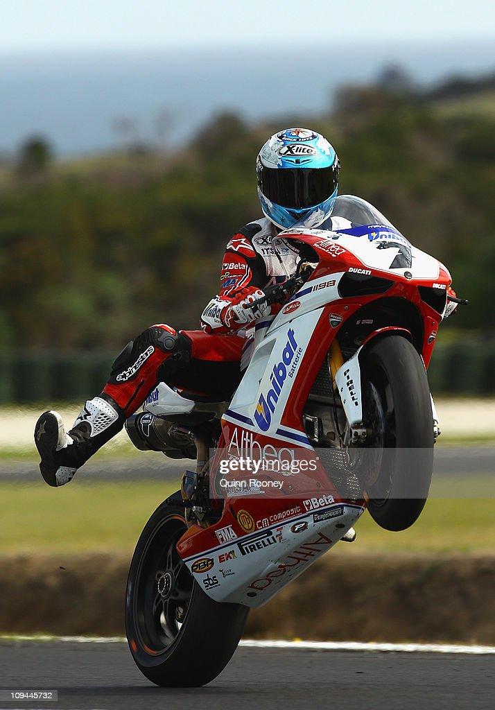 Superbike World Championship Round One - Qualifying