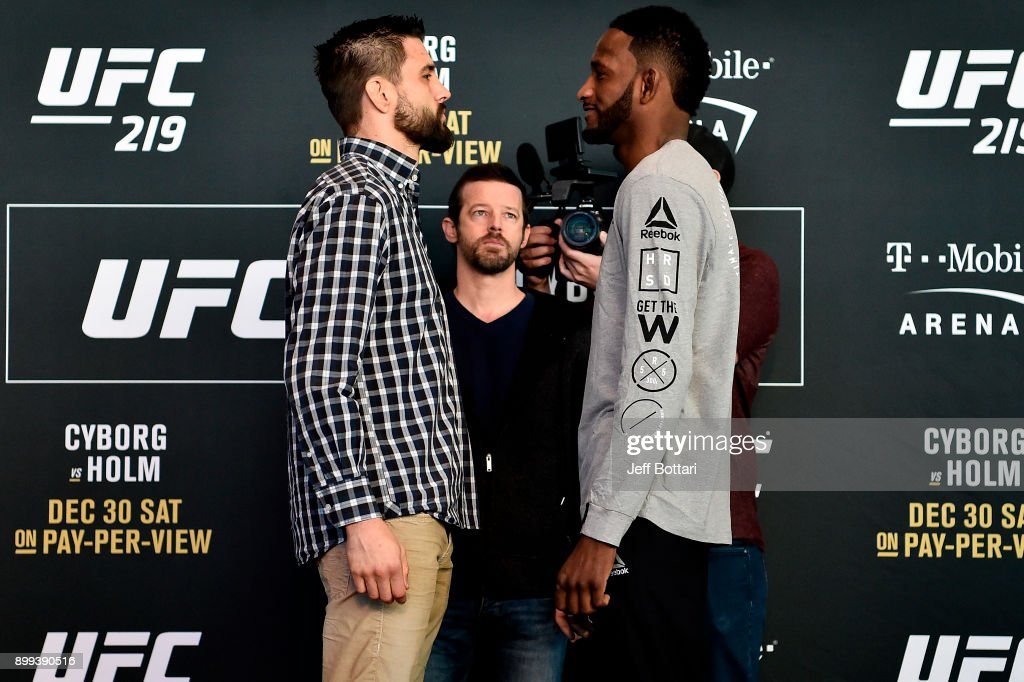 UFC 219: Ultimate Media Day : News Photo