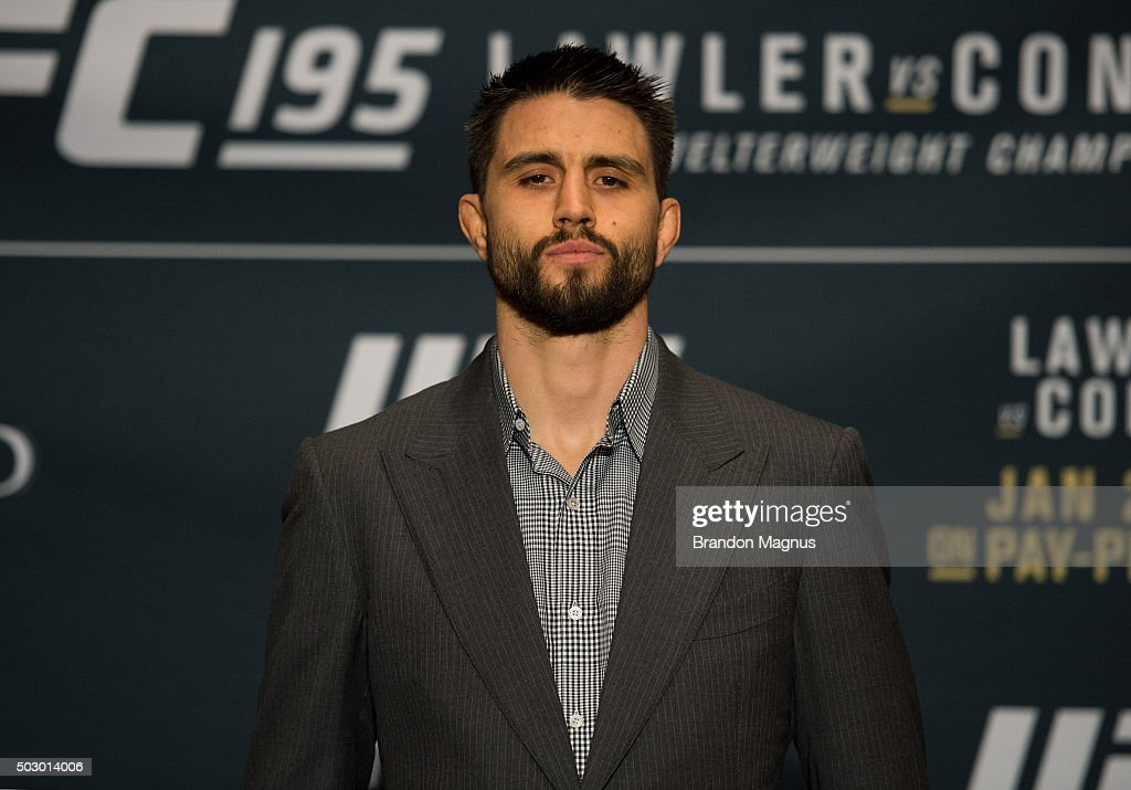 UFC 195 Ultimate Media Day