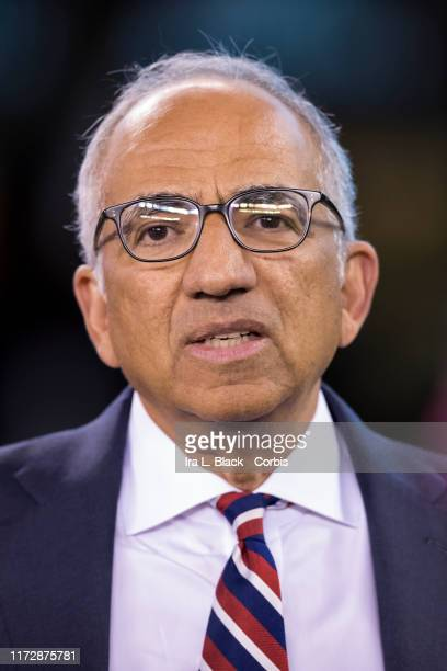 Carlos Cordeiro president of the United States Soccer Federation before the start of the Friendly match between the United States Men's National Team...