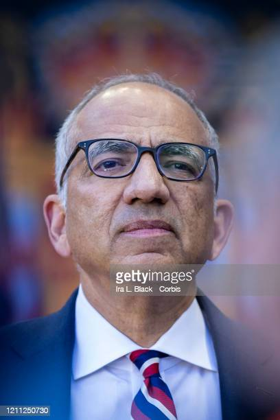 Carlos Cordeiro President of the United States Soccer Federation before the 2020 SheBelieves Cup match between United States and Spain sponsored by...