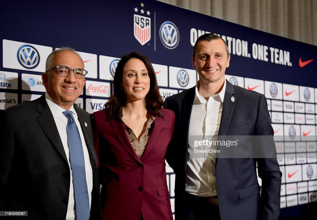 United States Women's National Team Introduce Head Coach : News Photo