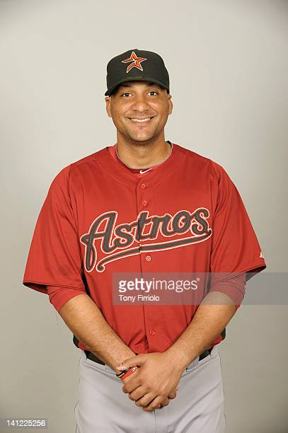 Carlos Corporan of the Houston Astros poses during Photo Day on Tuesday February 28 2012 at Osceola County Stadium in Kissimmee Florida