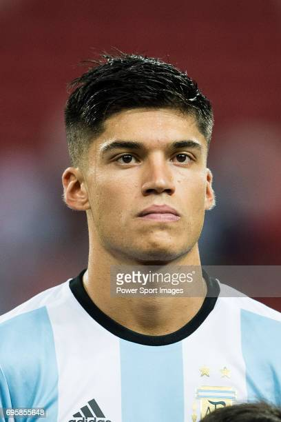Carlos Correa of Argentina during the International Test match between Argentina and Singapore at National Stadium on June 13 2017 in Singapore
