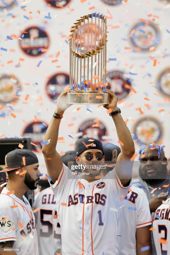 Houston Astros Victory Parade : News Photo