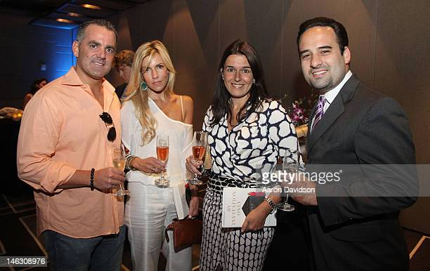Carlos Cueto Lourdes Cueto Angela de Cespedes Wenke and Oscar Grau attend the launch of 'By Invitation Only' with Alexis Maybank and Alexandra Wilkis...