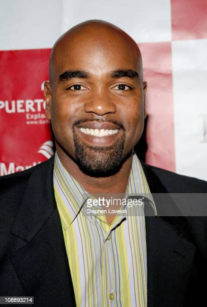 """Carlos Delgado during Perry Ellis and Travel + Leisure """"Come Out and Play"""" Party - May 22, 2006 at Thom Bar in New York City, New York, United States."""