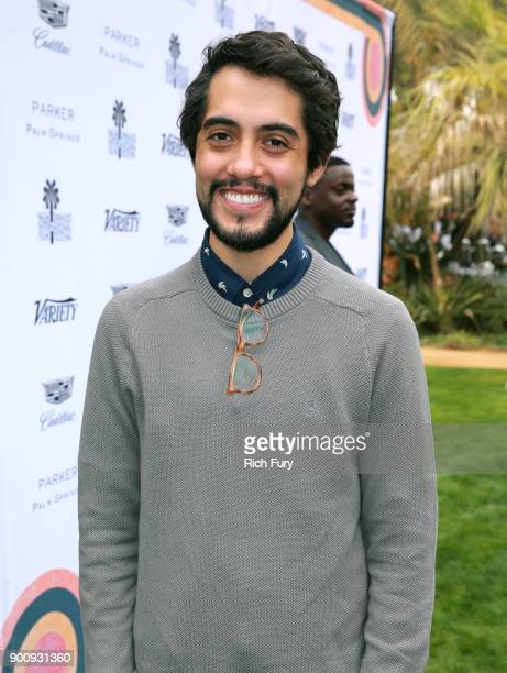 Carlos Estrada attends Variety's Creative Impact Awards and 10 Directors to Watch Brunch Red Carpet at the 29th Annual Palm Springs International...