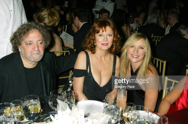 Carlos Falchi Susan Sarandon and Kim Cattrall during The Accessories Council Presents the 8th Annual Ace Awards at Cipriani 42nd Street in New York...