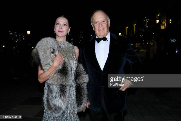 Carlos Falco and Esther Doña at arrival for Vanity Fair Personality of Year Awards 2019 , in Madrid, Spain, on November 25, 2019.