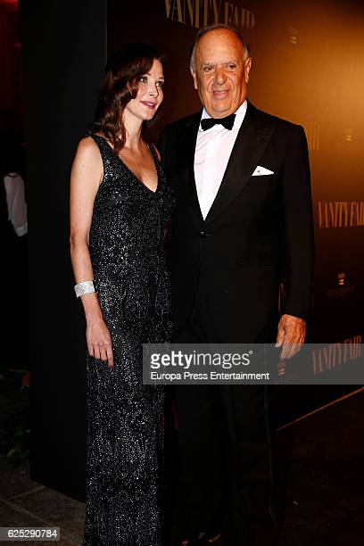 Carlos Falco and Esther Dona attend the gala dinner of Vanity Fair to commemorate its 100 number at Real Academia de Bellas Artes de San Fernando on...