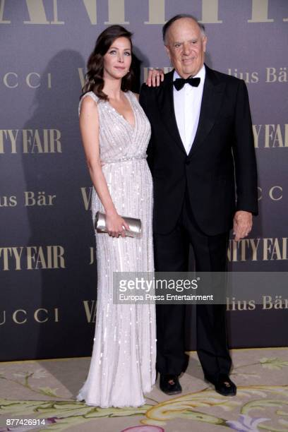 Carlos Falco and Esther Dona attend the gala 'Vanity Fair Personality of the Year' to Garbine Muguruza at Ritz Hotel on November 21 2017 in Madrid...