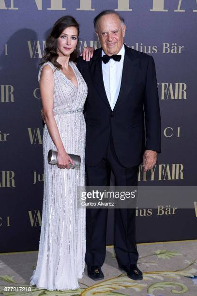 Carlos Falco and Esther Dona attend the Vanity Fair Personality of the Year party at the Ritz Hotel on November 21 2017 in Madrid Spain