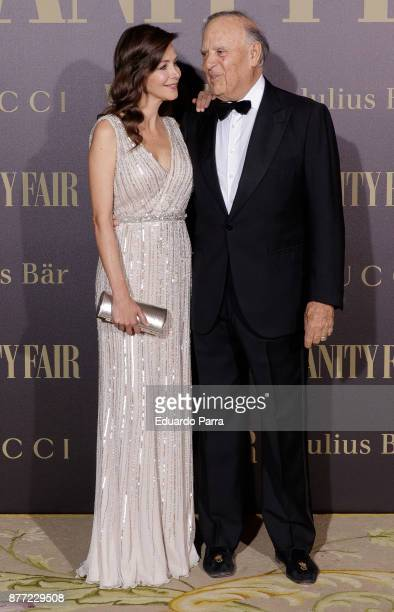 Carlos Falco and Esther Dona attend the 'Vanity Fair Personality of the year' photocall at Ritz hotel on November 21, 2017 in Madrid, Spain.