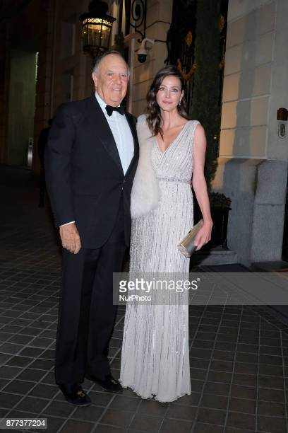 Carlos Falco and Esther Dona attends the Vanity Fair Personality of the Year party at the Ritz Hotel on November 21 2017 in Madrid Spain
