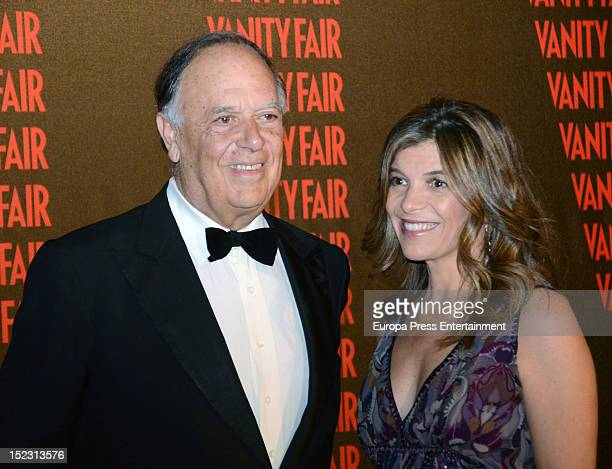 Carlos Falco and Xandra Falco arrive to the Vanity Fair magazine 'Man of The Year 2012' award ceremony on September 17 2012 in Madrid Spain