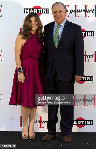 Carlos Falco and Xandra Falco attend Elle Gourmet Awards 2015 on July 6, 2015 in Madrid, Spain.