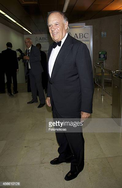 Carlos Falco attends a dinner in honour of the 'Mariano de Cavia' 'Luca de Tena' and 'Mingote' awards winners at Casa de ABC on October 3 2014 in...