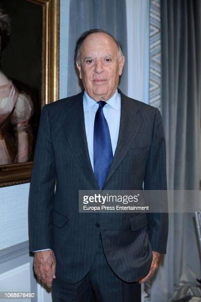Carlos Falco attends the meeting of Circulo Fortuny at Heritage Madrid hotel on December 4, 2018 in Madrid, Spain.