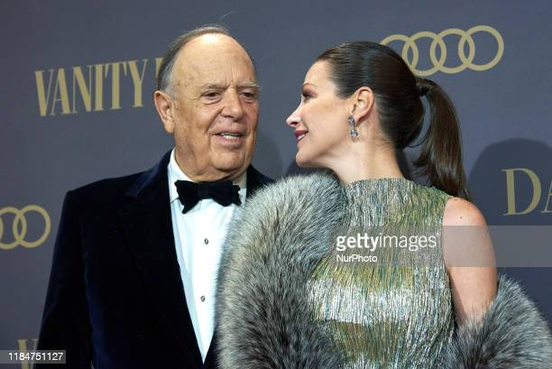 Carlos Falco, Esther Dona attends the Vanity Fair awards 2019 photocall at Royal Theater in Madrid, Spain on Nov 25, 2019