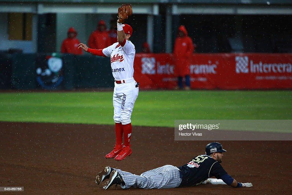 Sultanes de Monterrey v Diablos Rojos - Liga Mexicana de Beisbol 2016
