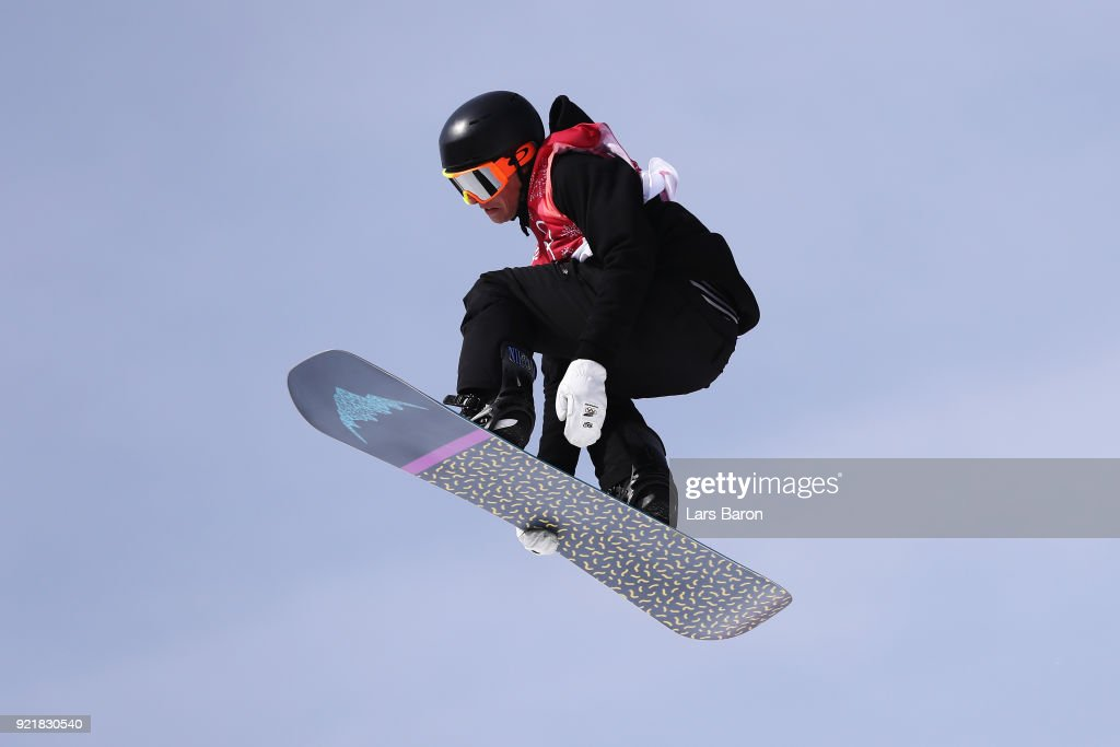 Carlos Garcia Knight of New Zealand competes during the Men's Big Air Qualification Heat 2 on day 12 of the PyeongChang 2018 Winter Olympic Games at Alpensia Ski Jumping Centre on February 21, 2018 in Pyeongchang-gun, South Korea.