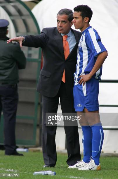 Carlos Garcia, Team Manager of Vizela, during the Portuguese Cup match between Nacional da Madeira and Vizela in Funchal, Madeira, Portugal on...