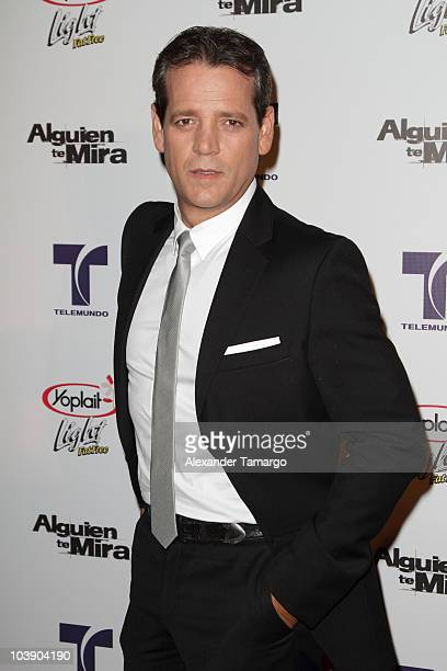 Carlos Garin attends screening of Telemundo's 'Alguien Te Mira' at The Biltmore Hotel on September 7 2010 in Coral Gables Florida
