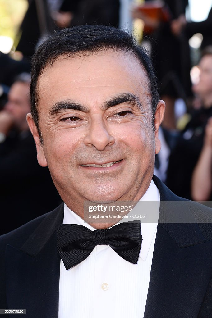 Carlos Ghosn at the Closing ceremony and 'A Fistful of Dollars' screening during 67th Cannes Film Festival