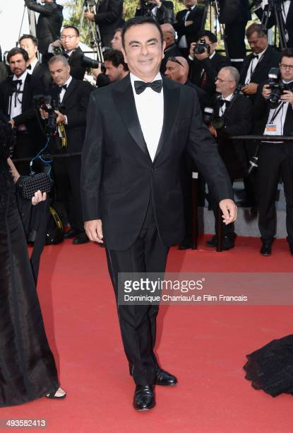 Carlos Ghosn attends the Closing Ceremony and 'A Fistful of Dollars' Screening during the 67th Annual Cannes Film Festival on May 24 2014 in Cannes...