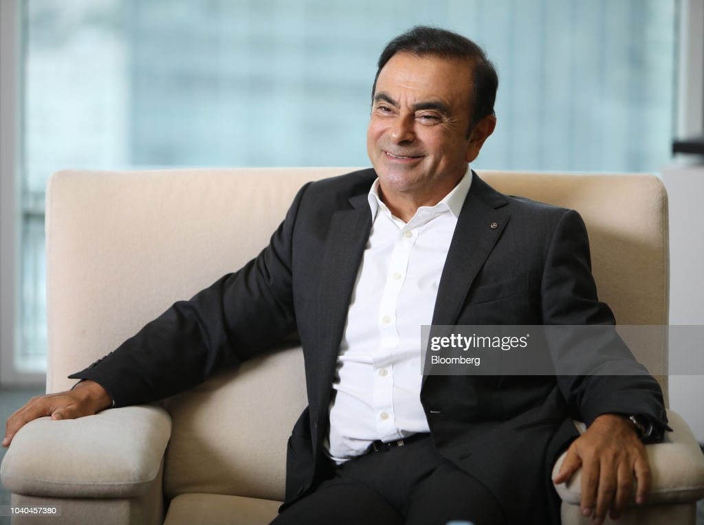 Renault-Nissan-MMC chairman Carlos Ghosn Signals He'll Keep Leading the Alliance : ニュース写真