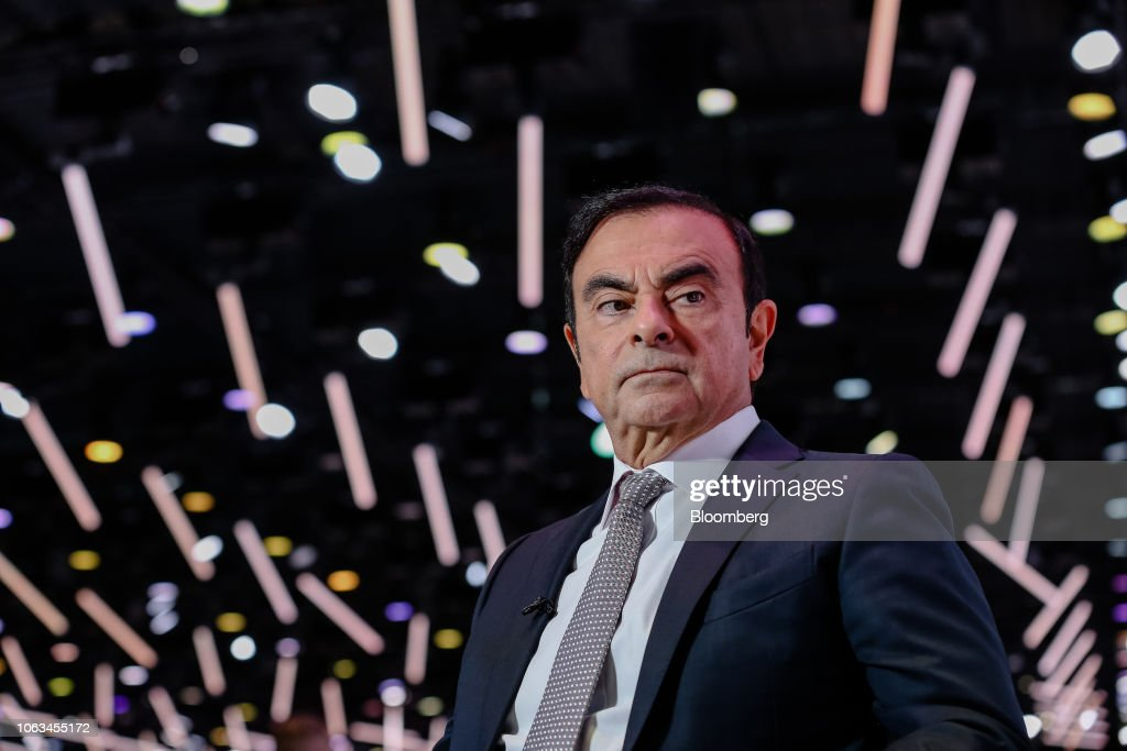 File: Nissan's Ghosn To Be Arrested On Suspected Financial Law Breach : News Photo