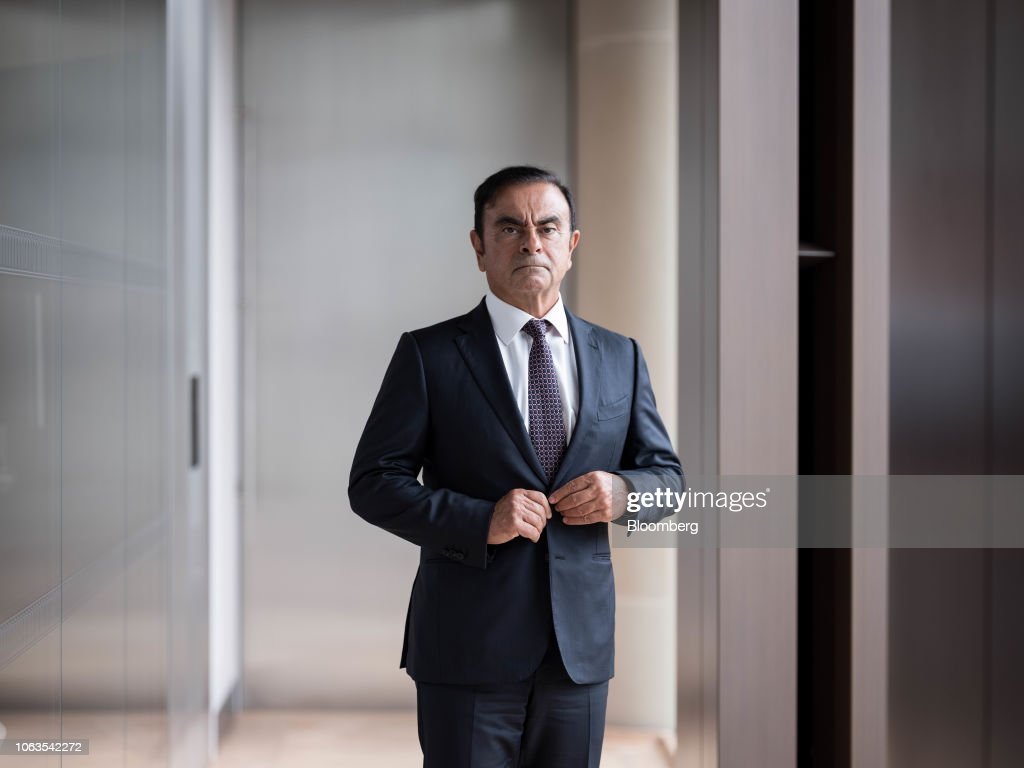 File: Nissans Ghosn To Be Arrested On Suspected Financial Law : News Photo