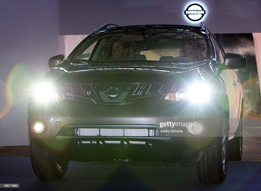 Nissan Reveals New North-American Bound Vehicles : News Photo